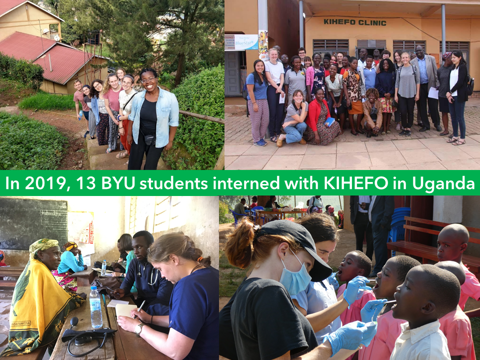 13 Students Interned with KIHEFO in Kaba