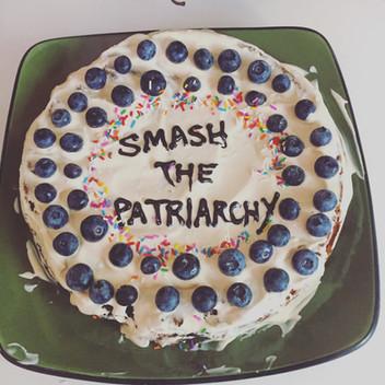 Smash the Patriarchy Cake