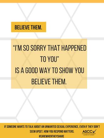 Believe Them