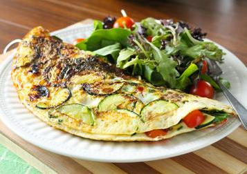 Veggie-Packed Omelette