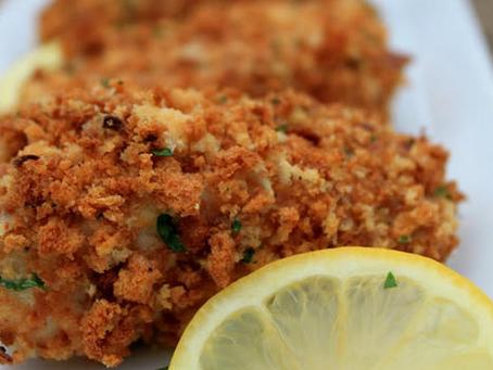 Crunchy Cajun Baked Fish