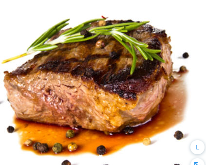 Pan-Seared Filet Mignon with Peppercorn Sauce