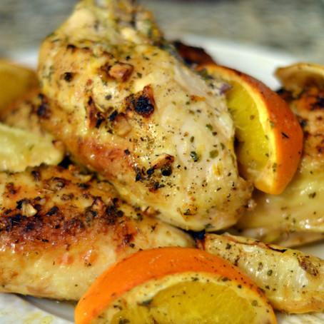 Citrus-Marinaded Chicken Breasts
