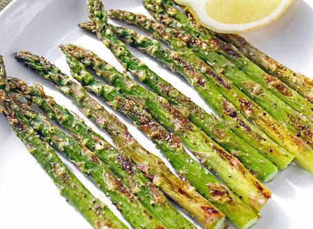 Garlic Lemon Roasted Asparagus