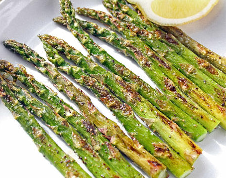 Garlic Lemon Roasted Asparagus
