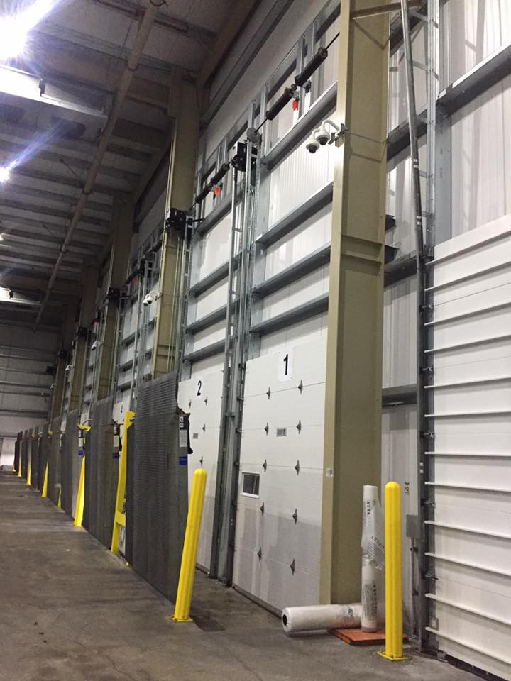 Commercial Vertical Lift Doors