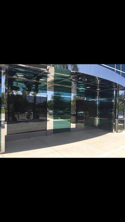 Herculite Glass Doors