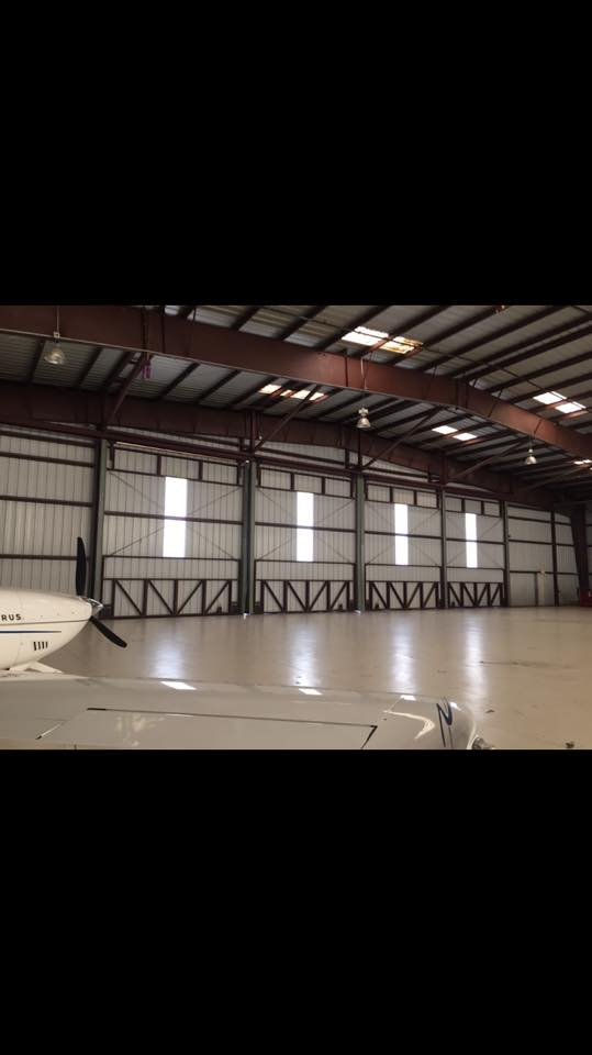 Airplane Hangar Door Repair.
