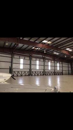 Airplane Hangar Door Repair.