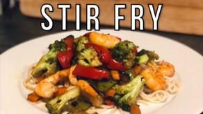 Simple Shrimp Stir Fry