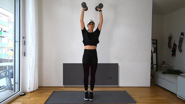 Dumbbell Only Full Body Pyramid Workout