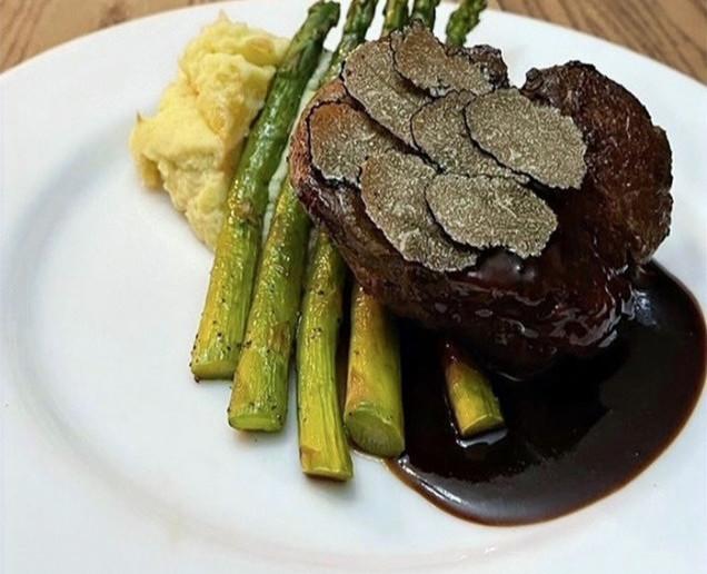 Wagyu black truffle beef