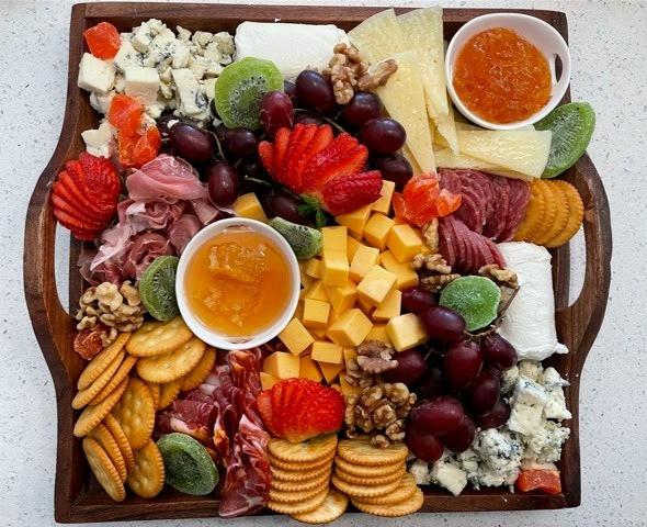 Premium cheese board
