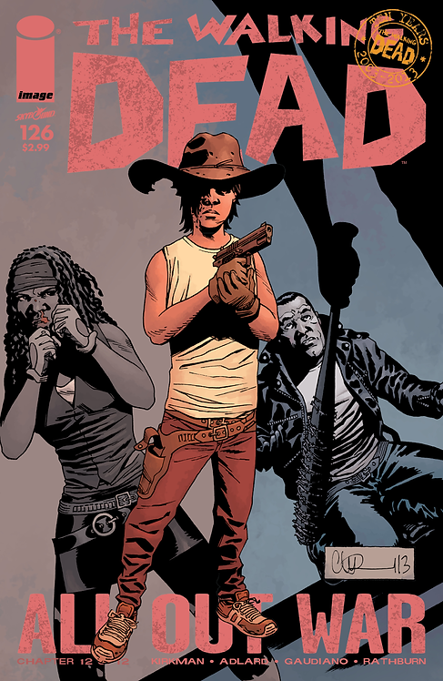 The Walking Dead #126 (AOW)