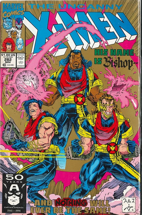 X-Men #282 *Variante Dorada