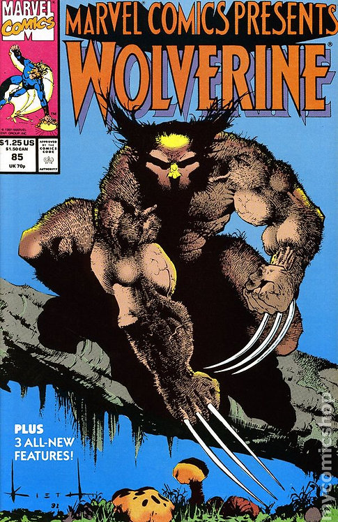 Marvel Comics presents Wolverine #85