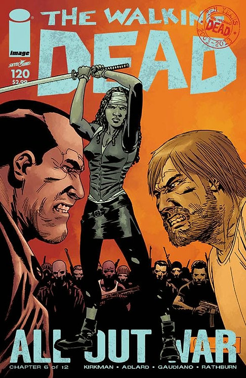 The Walking Dead #120 (AOW)