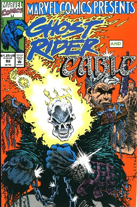 Ghost Rider and Cable #92