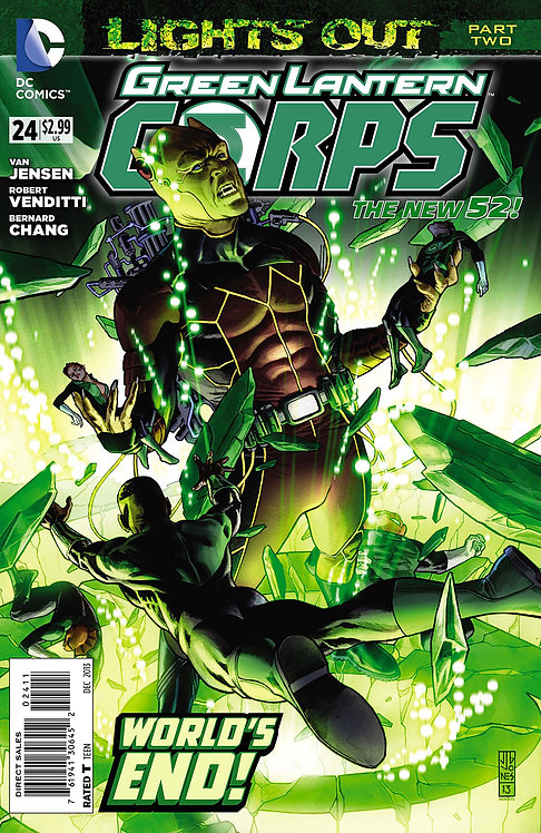 Green Lantern Corps 24 ll Lights Out 2
