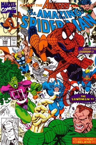 The Amazing Spider-Man #348
