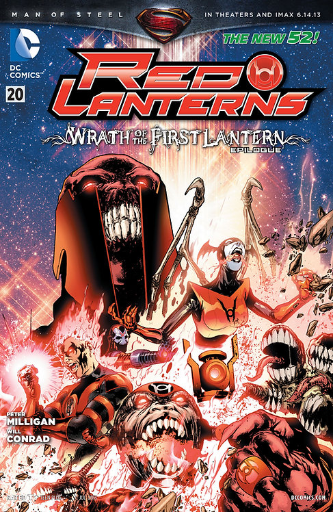 Red Lanters 20 ll Epilogo Wrath of The First Lantern