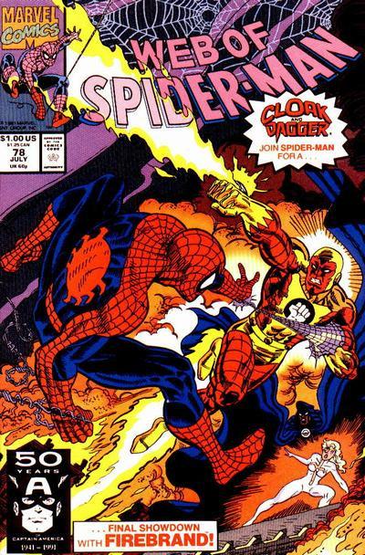 Web of Spiderman #78