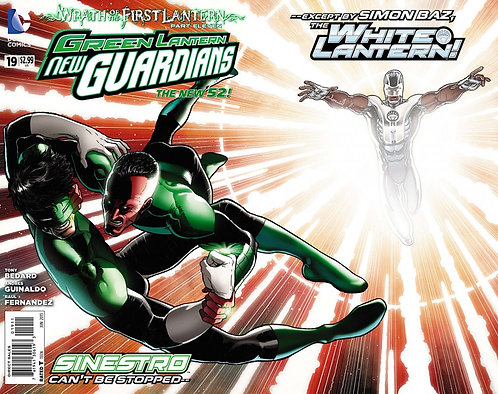 Green Lantern New Guardians 19