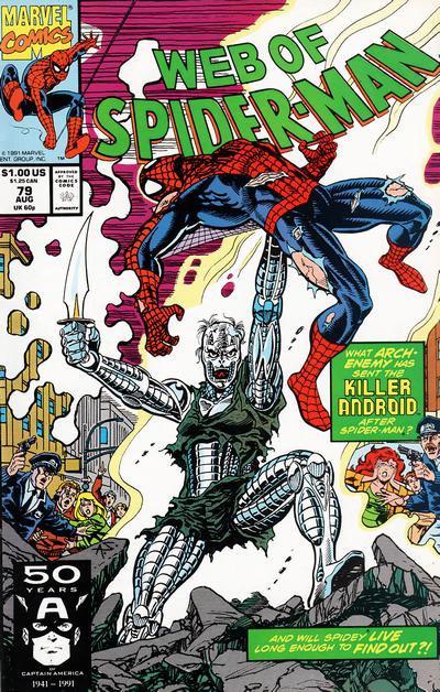 Web of Spiderman #79