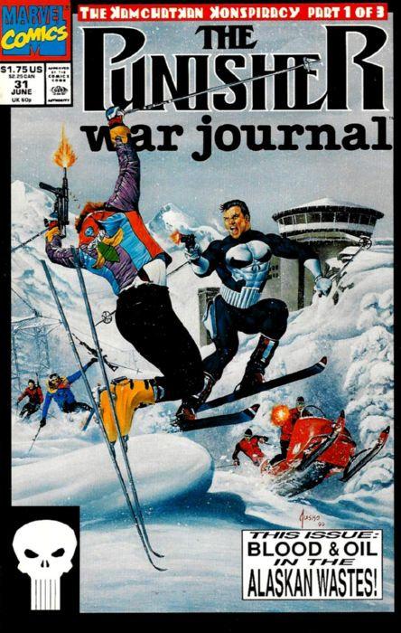 The Punisher War Journal #31