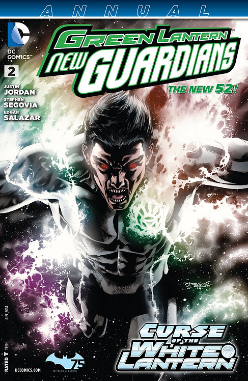 Green Lantern New Guardians Annual 2