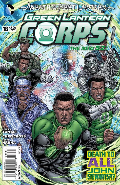 Green Lantern Corps 18 ll Wrath of the First Lantern 6