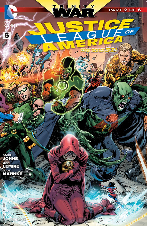 Justice League of America #6 (Trinity War #2)