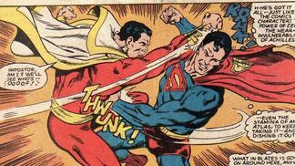 ¡EL DIRECTOR DE SHAZAM PUBLICA GUIÓN DE PELEA CON SUPERMAN!