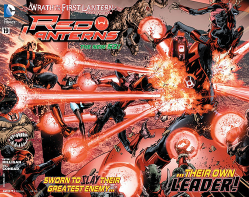Red Lanters 19 ll Wrath of The First Lantern 12