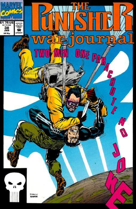 The Punisher War Journal #38