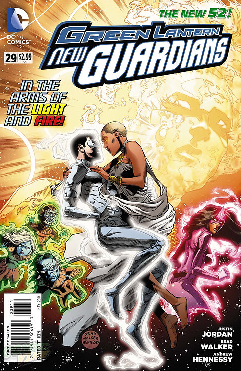 Green Lantern New Guardians 29