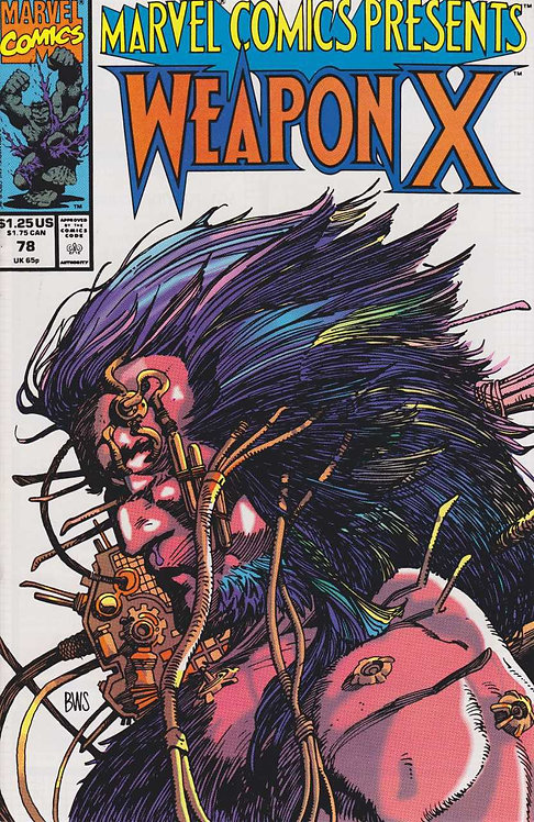 Weapon X #78