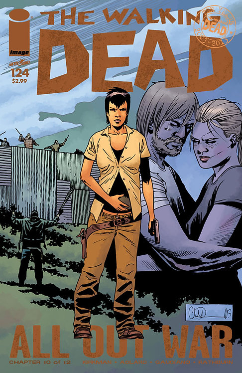 The Walking Dead #124 (AOW)