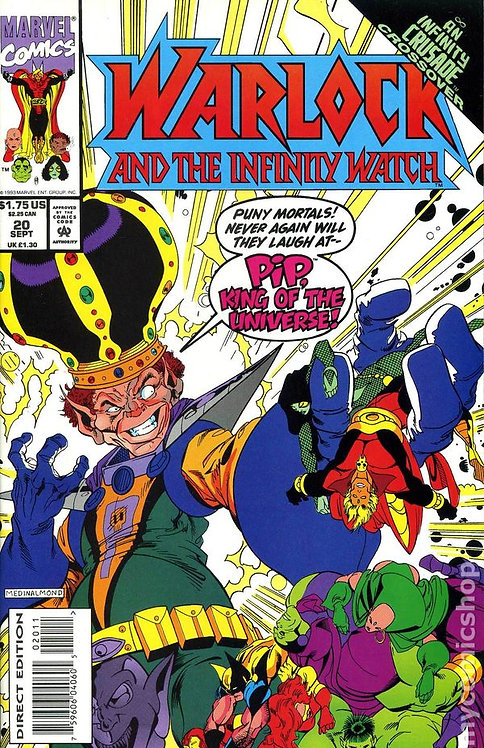 Warlock and The Infinity Watch #20