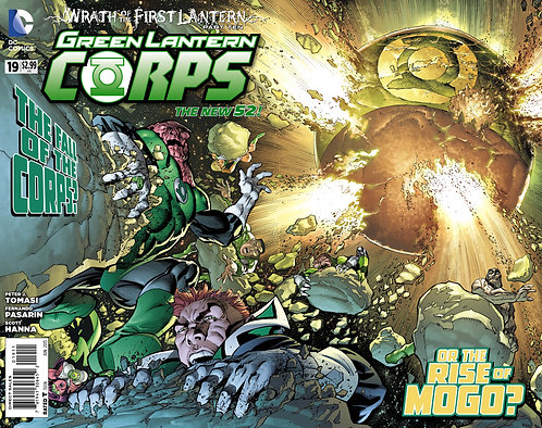 Green Lantern Corps 19 ll Wrath of the First Lantern 10