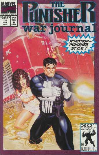 The Punisher War Journal #40