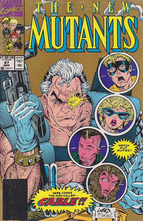 The New Mutants #87 *Variante Dorada