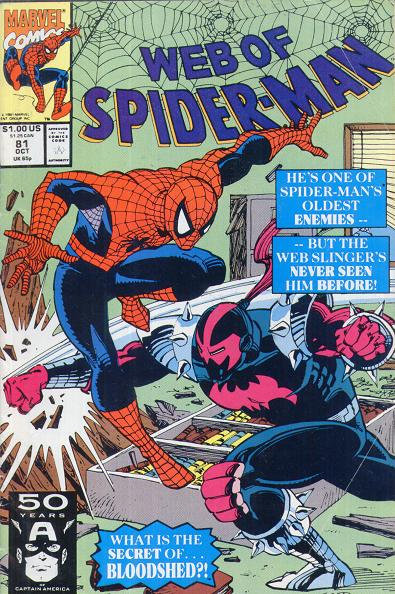 Web of Spiderman #81