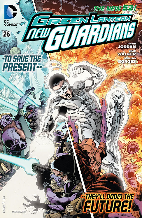 Green Lantern New Guardians 26