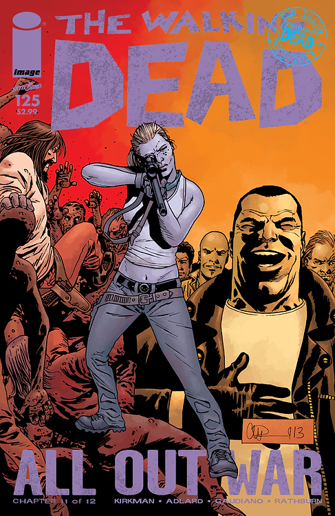 The Walking Dead #125 (AOW)