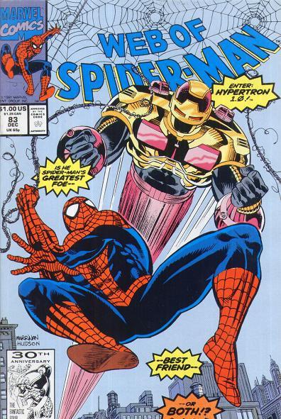 Web of Spiderman #83