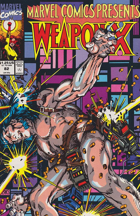 Weapon X #82