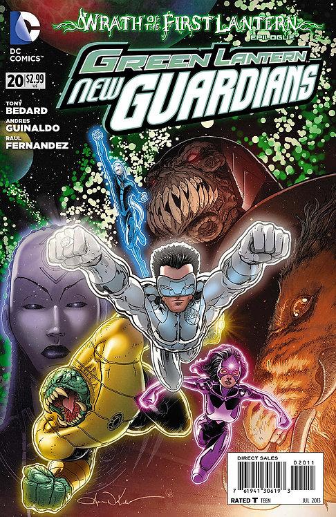 Green Lantern New Guardians 20