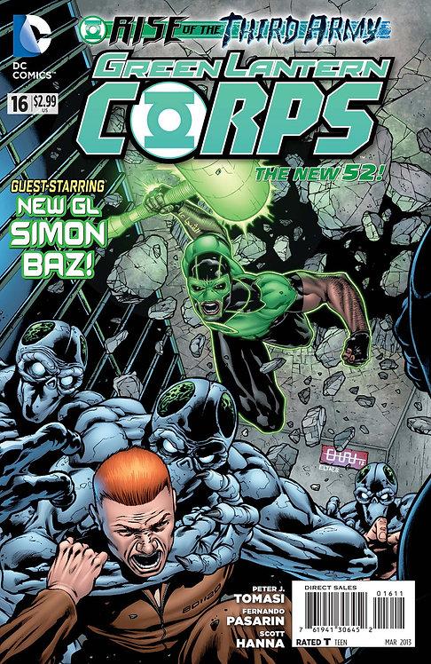 Green Lantern Corps 16