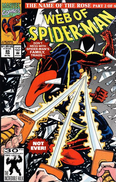Web of Spiderman #85